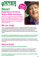 Click the image to download a Dial-a-Ride Brochure